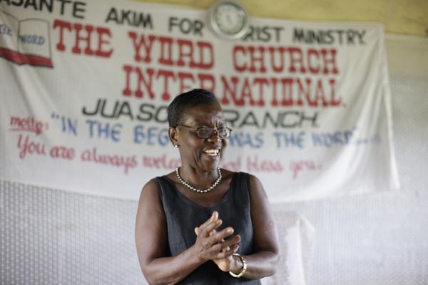Akosua speaking