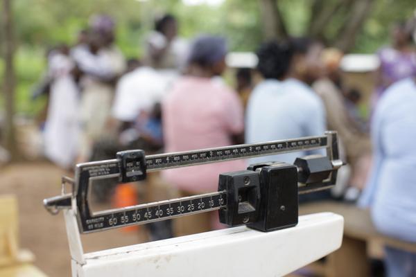 Malnourished Children's Centre scale
