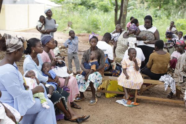 Malnourished Centre Children